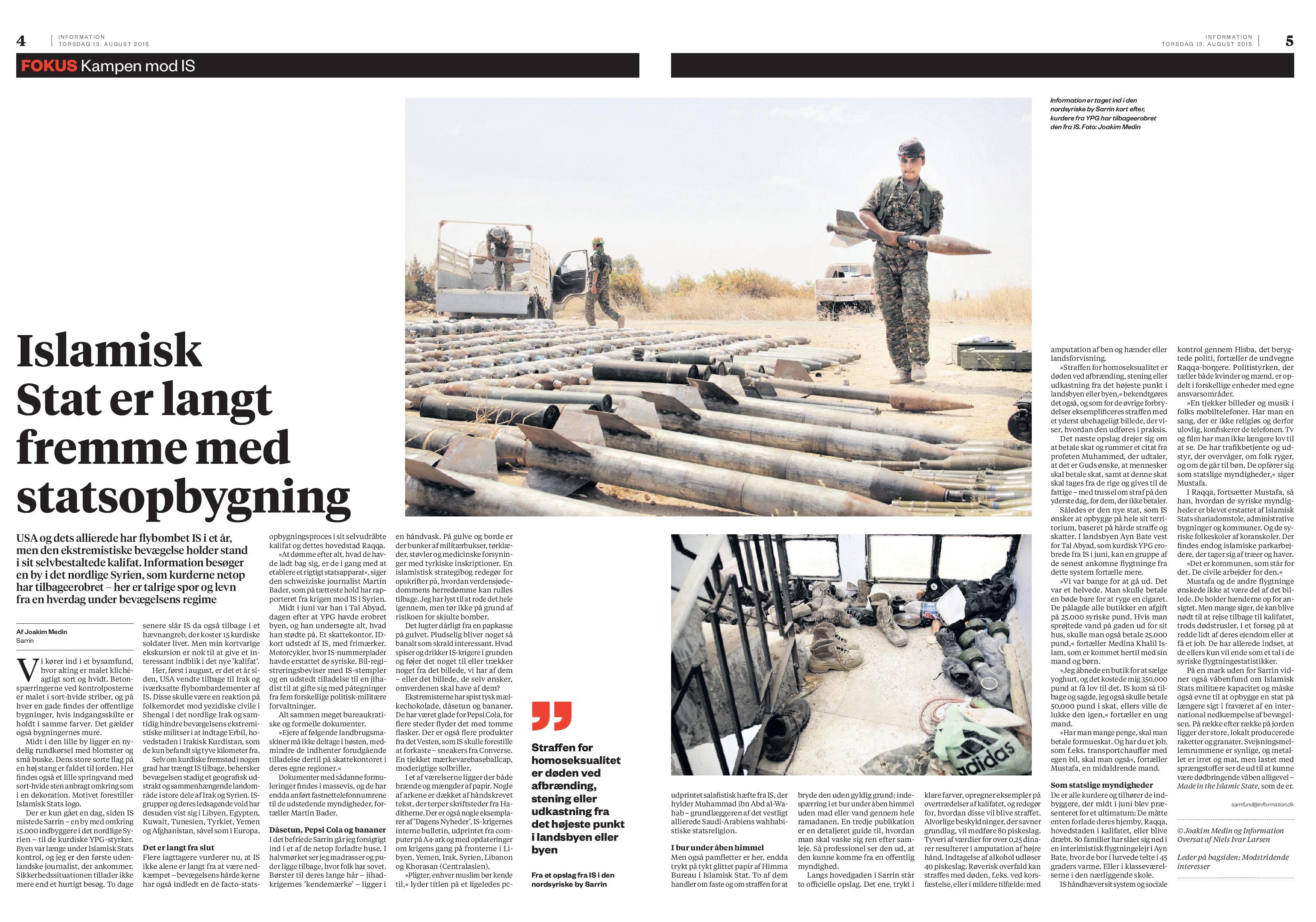 Syrien, Information