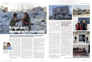 Syrien, Lundagård sep 2015