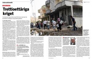 Turkiet, Fokus sep 2015