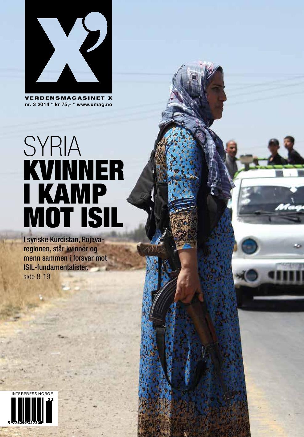 Kvinner i kamp mot Isil, X Mag