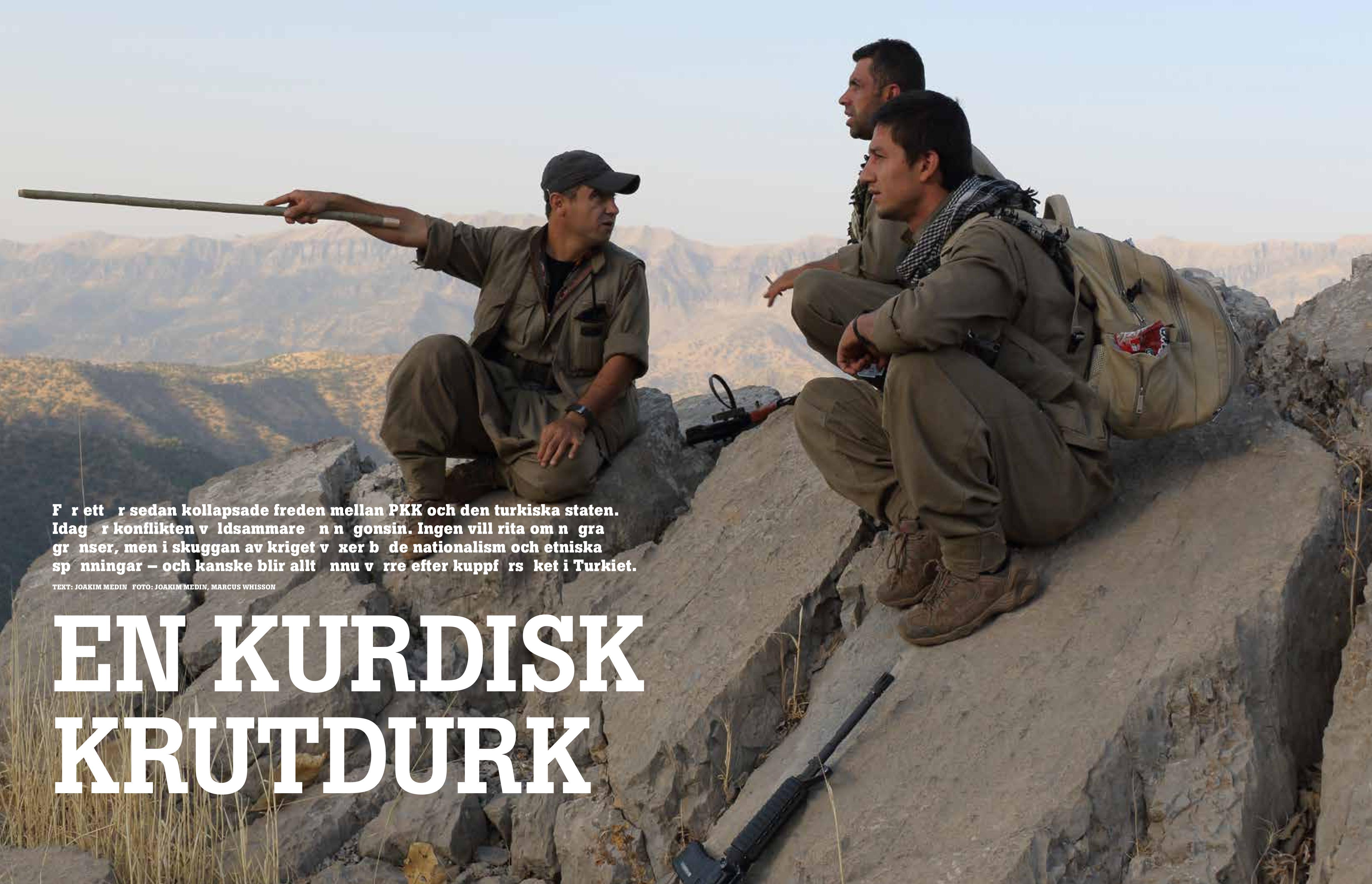 Kurdisk krutdurk, Frihet sep 2016