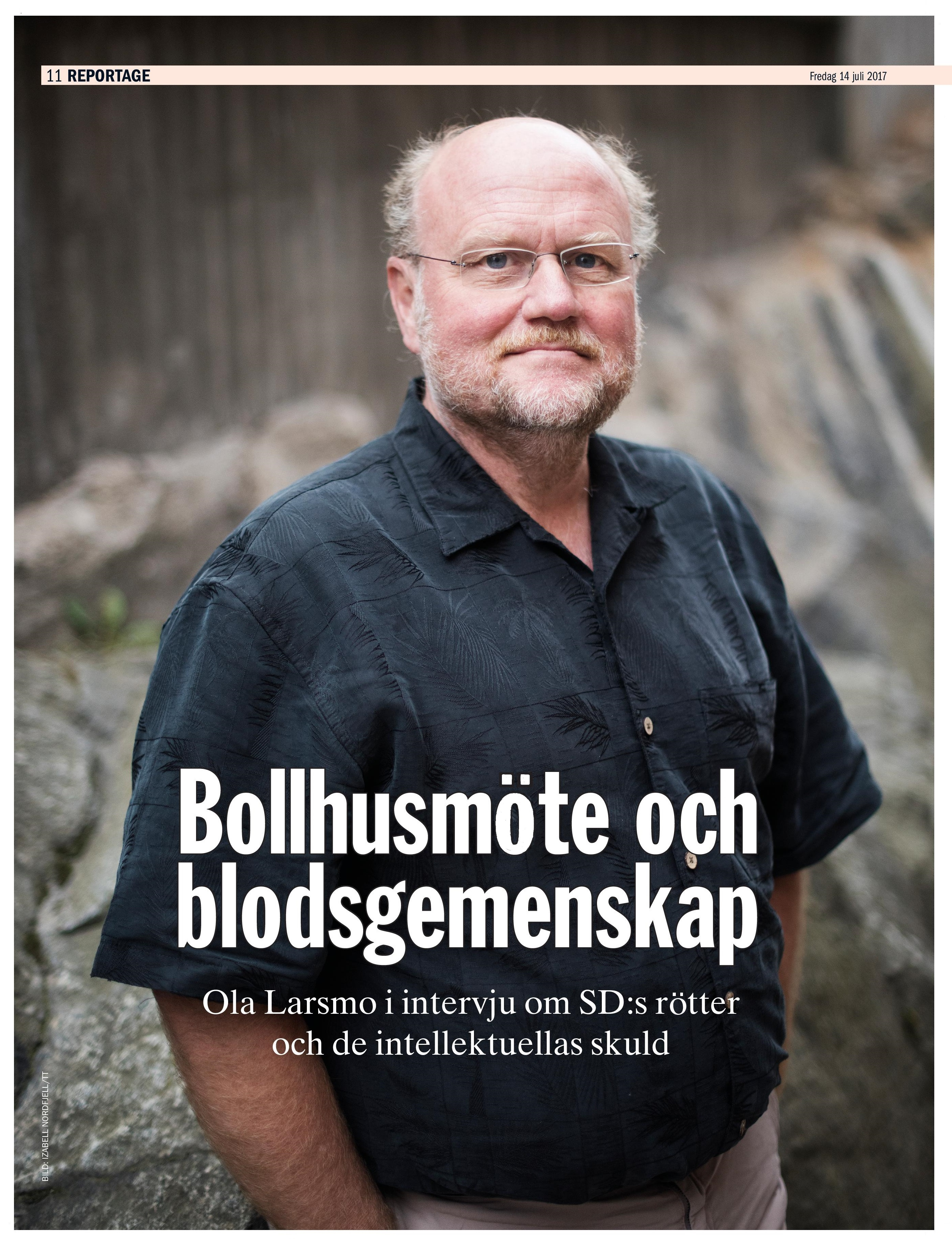 Ola Larsmo, ETC Uppsala 2017-07-14