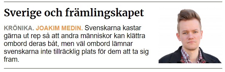 Sverige och främlingskapet