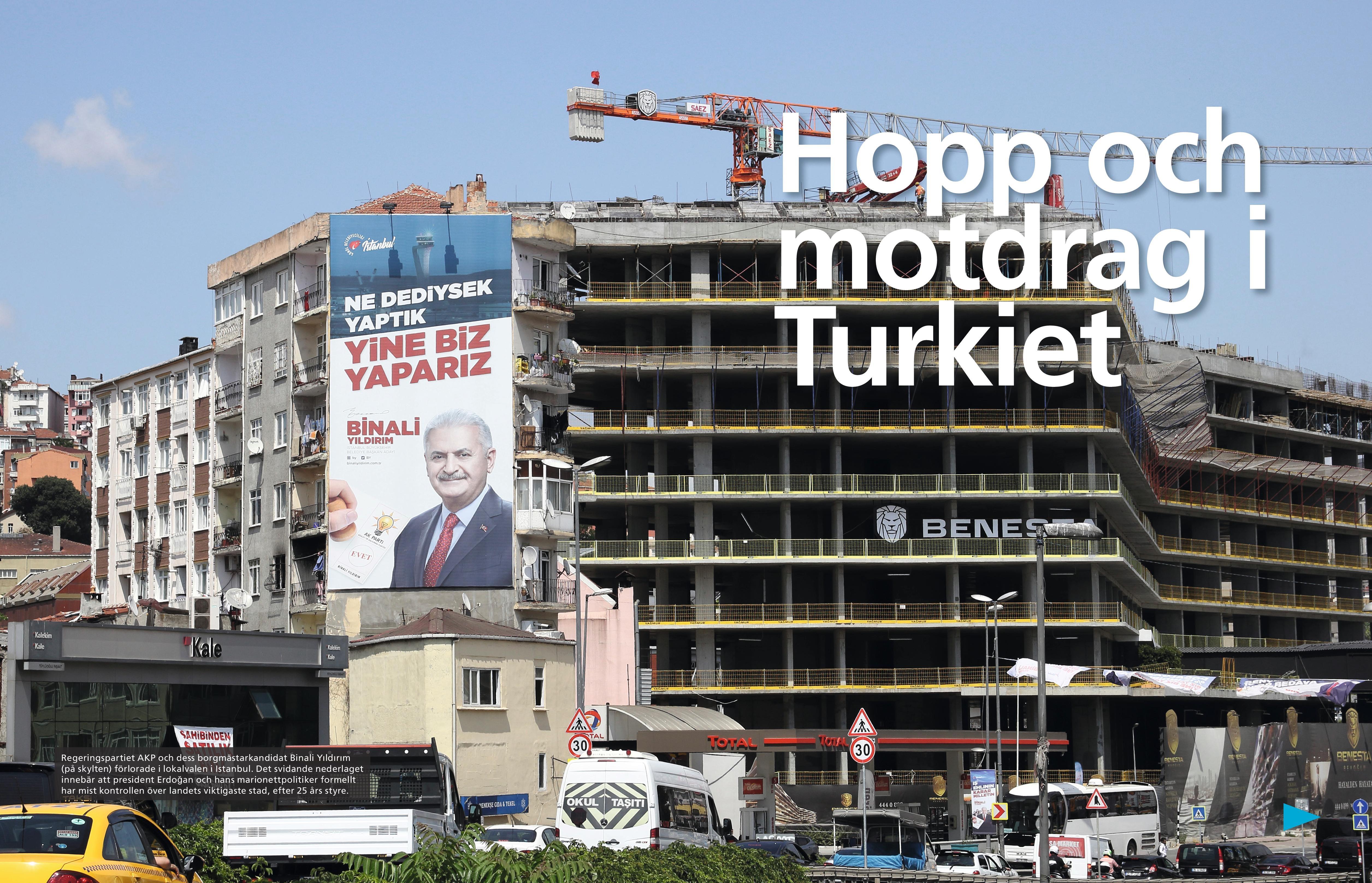 Turkiet, Arbetaren aug 2019-