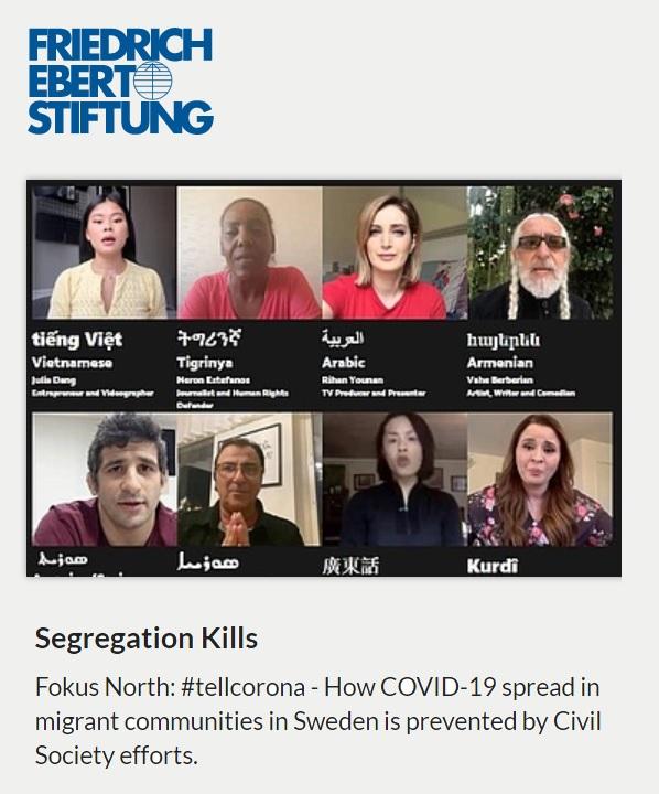 Segregation i Sverige, Friedrich Ebert Stiftung 2020-04-07