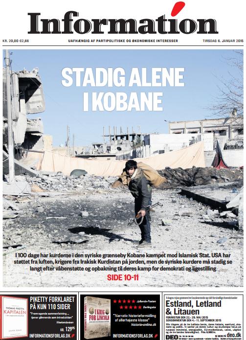 Syrien, Klassekampen januari 2015