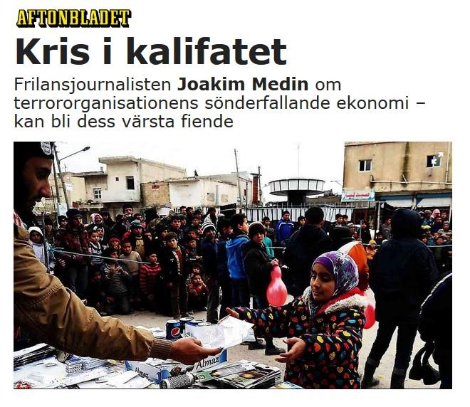 IS, Aftonbladet maj 2016