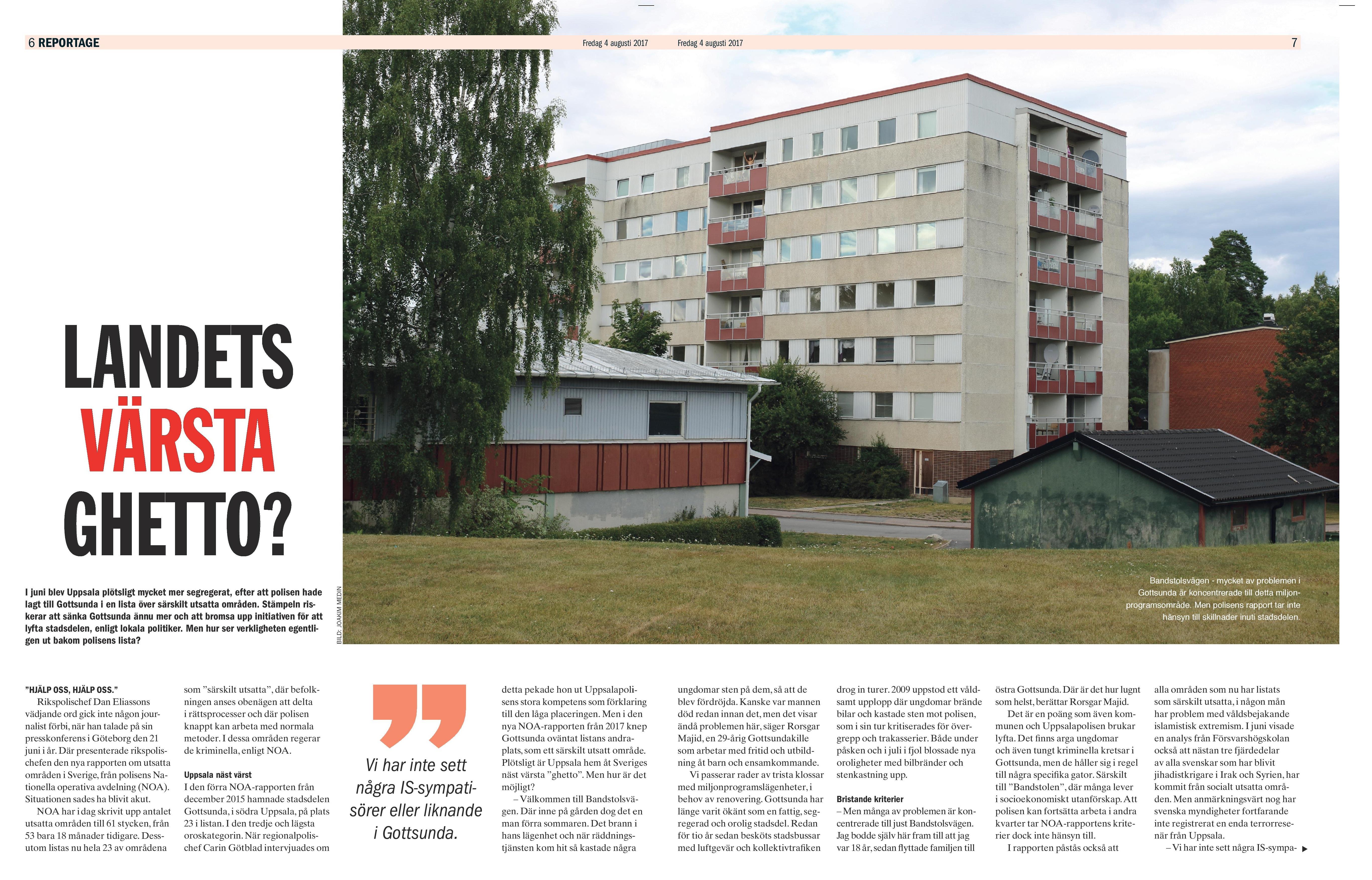 Gottsunda, ETC Uppsala aug 2017