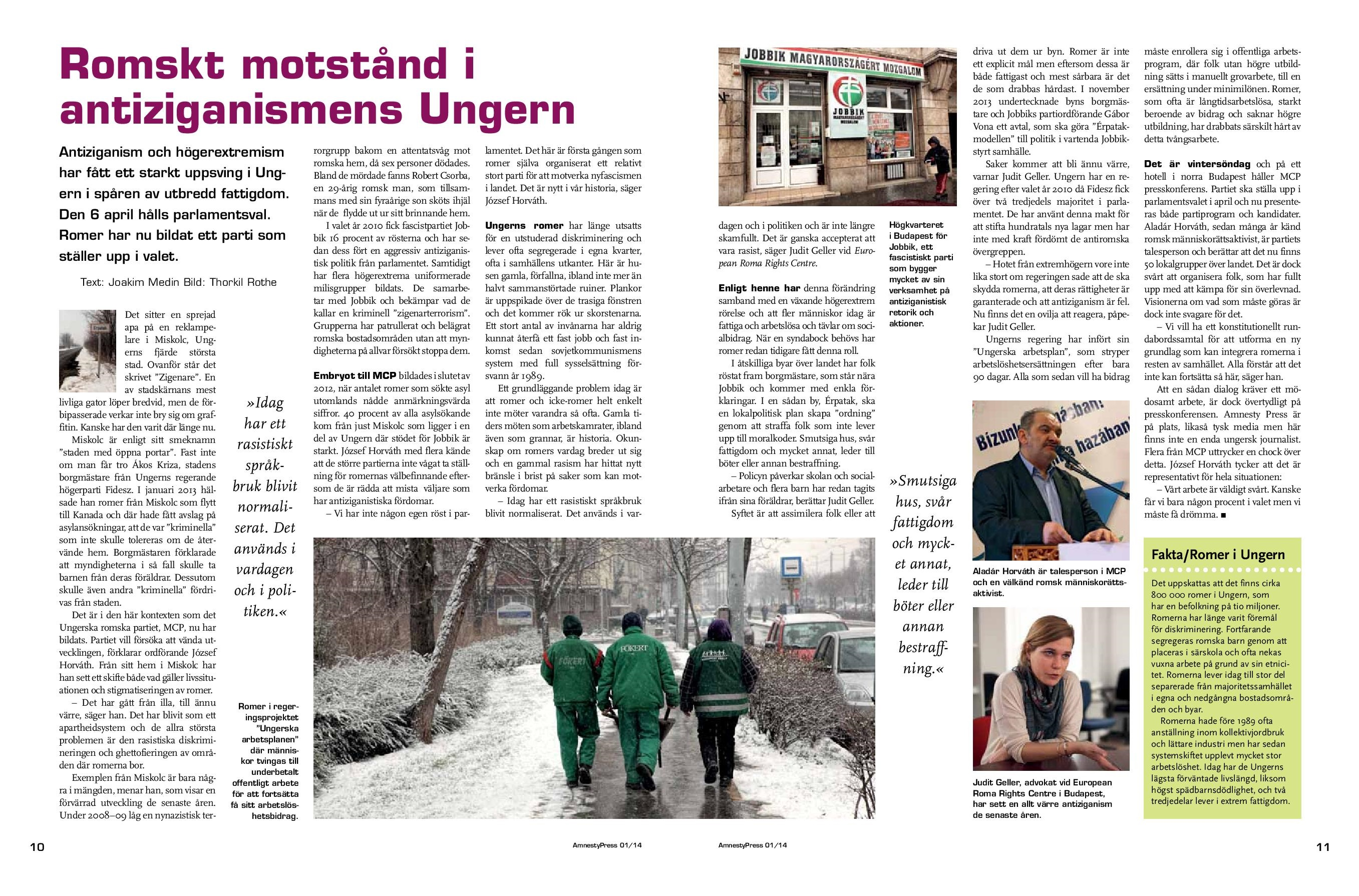 Ungern Amnesty
