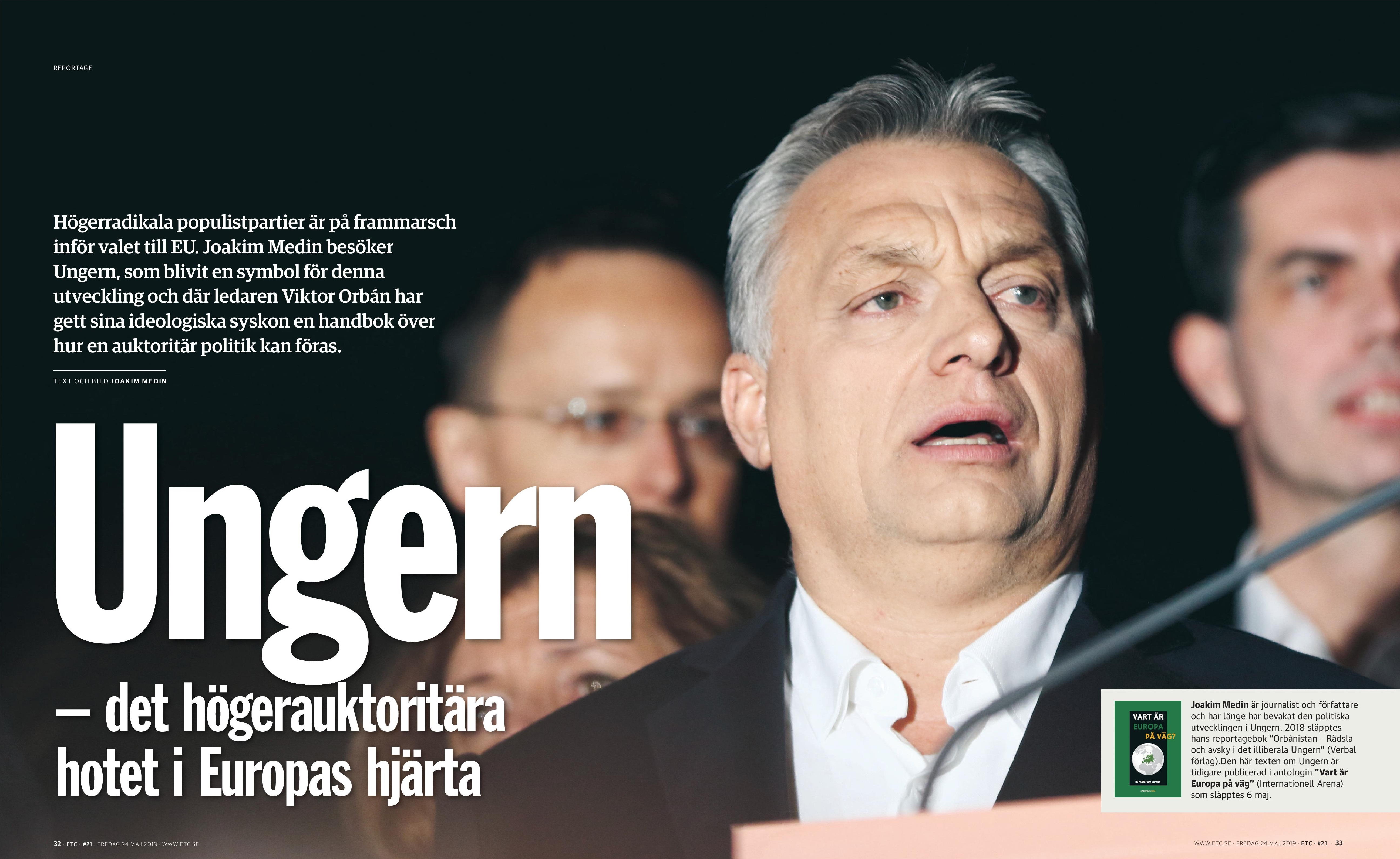 Ungern, Dagens ETC 2019-05-24